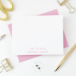 custom notecard sets for women