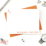 monogram stationery sets personalized for him