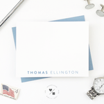 mens affordable personalized stationery