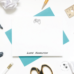 video game and gamer personalized stationery for kids