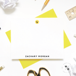 emoji personalized note cards and stationery gifts for kids