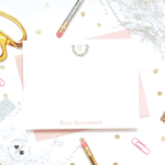 elegant laurel stationery for girls