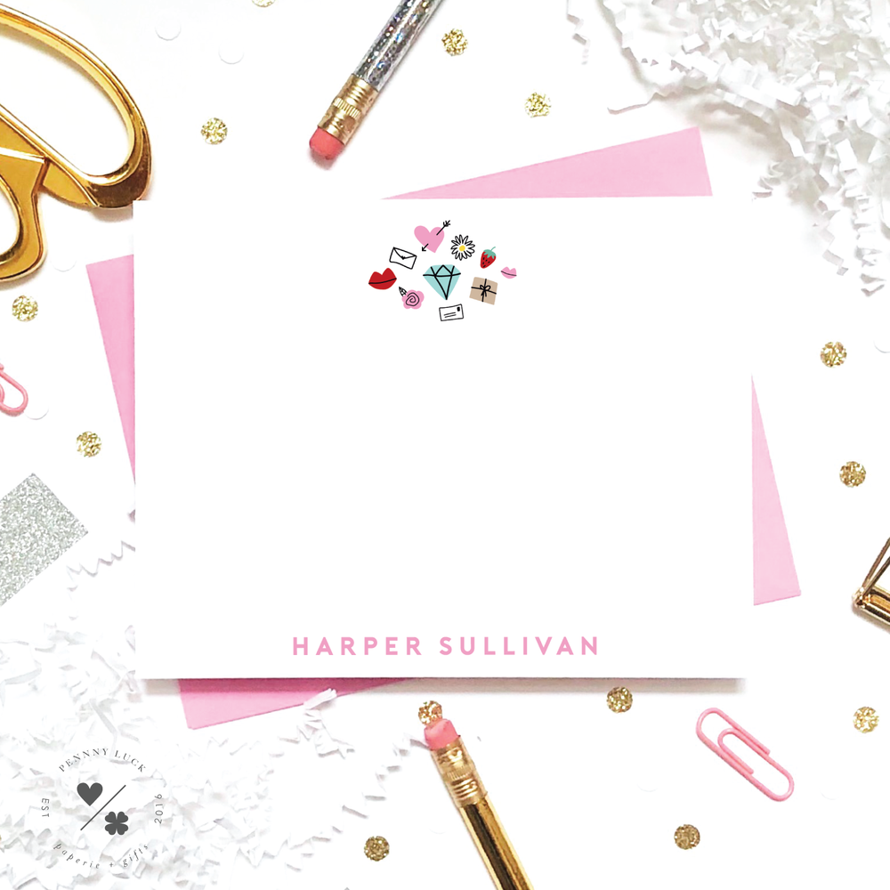 favorite girly things stationery for girls