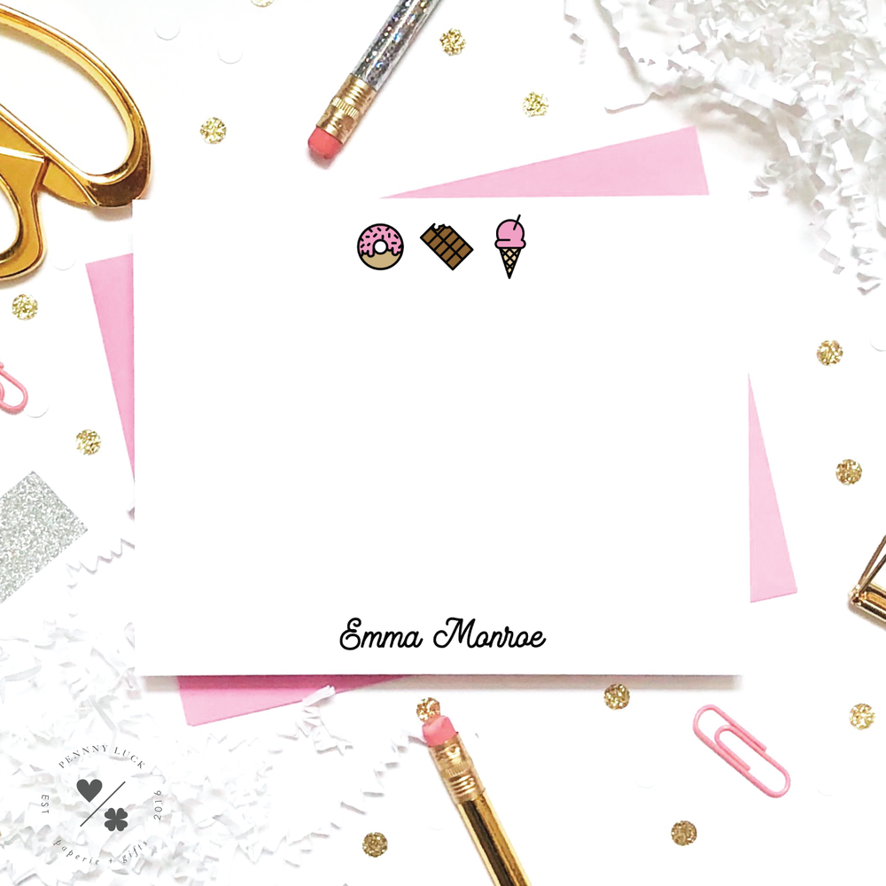 sweets stationery for girls