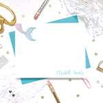 mermaid girly stationery