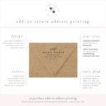 return address printing for pet stationery • penny luck paperie
