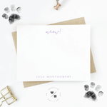 unique pet gifts personalized stationery