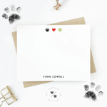 Pets Stationery • Paws, Love & Play