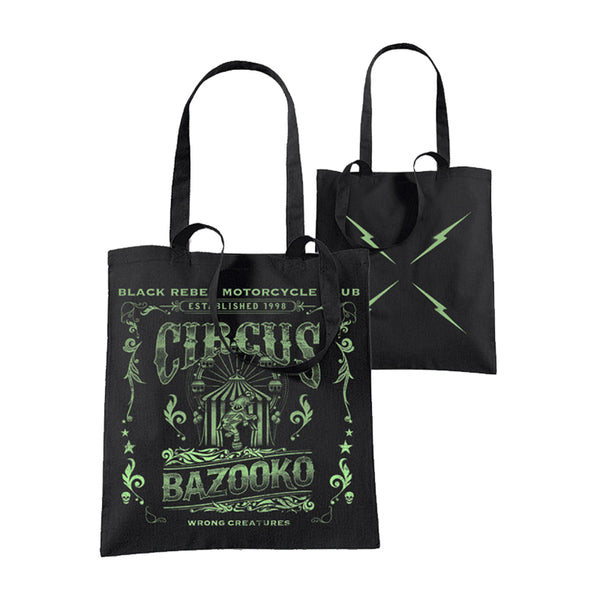 CIRCUS BLACK TOTE BAG