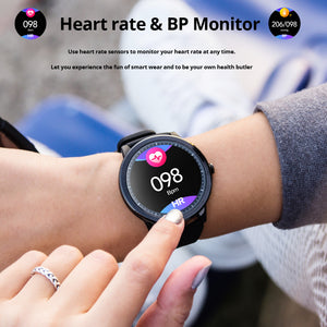 SENBONO S10pro Full Touch Smart Watch Sports Clock Heart Rate Sleep Monitor wristband