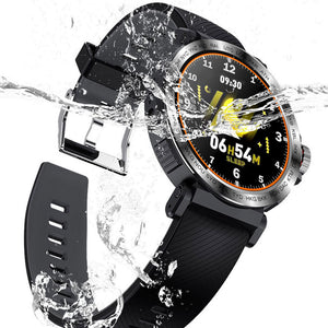 SENBONO S18 Full Screen Touch Smart Watch IP68 waterproof  Sports Clock Heart Rate Monitor tracker