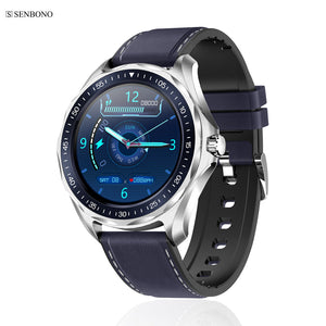 SENBONO S09plus IP68 Waterproof Fashion Smart Watch Support add watch faces Heart Rate  Weather