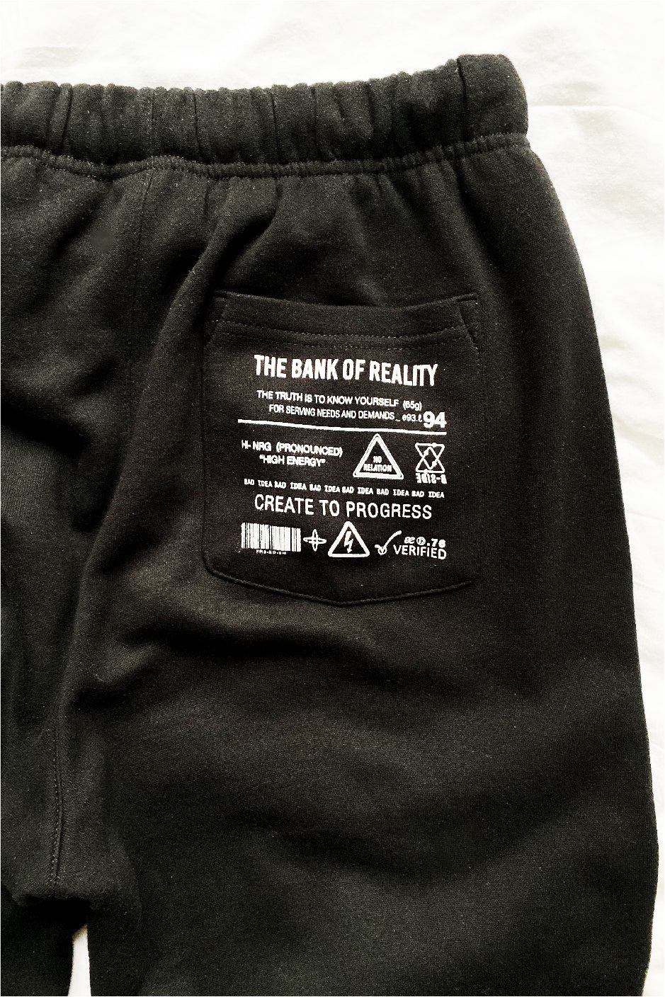 Bank of Reality Joggers