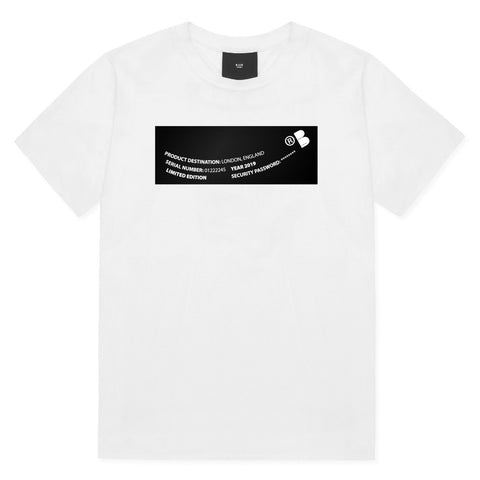 White T-shirt - Limited Edition Print