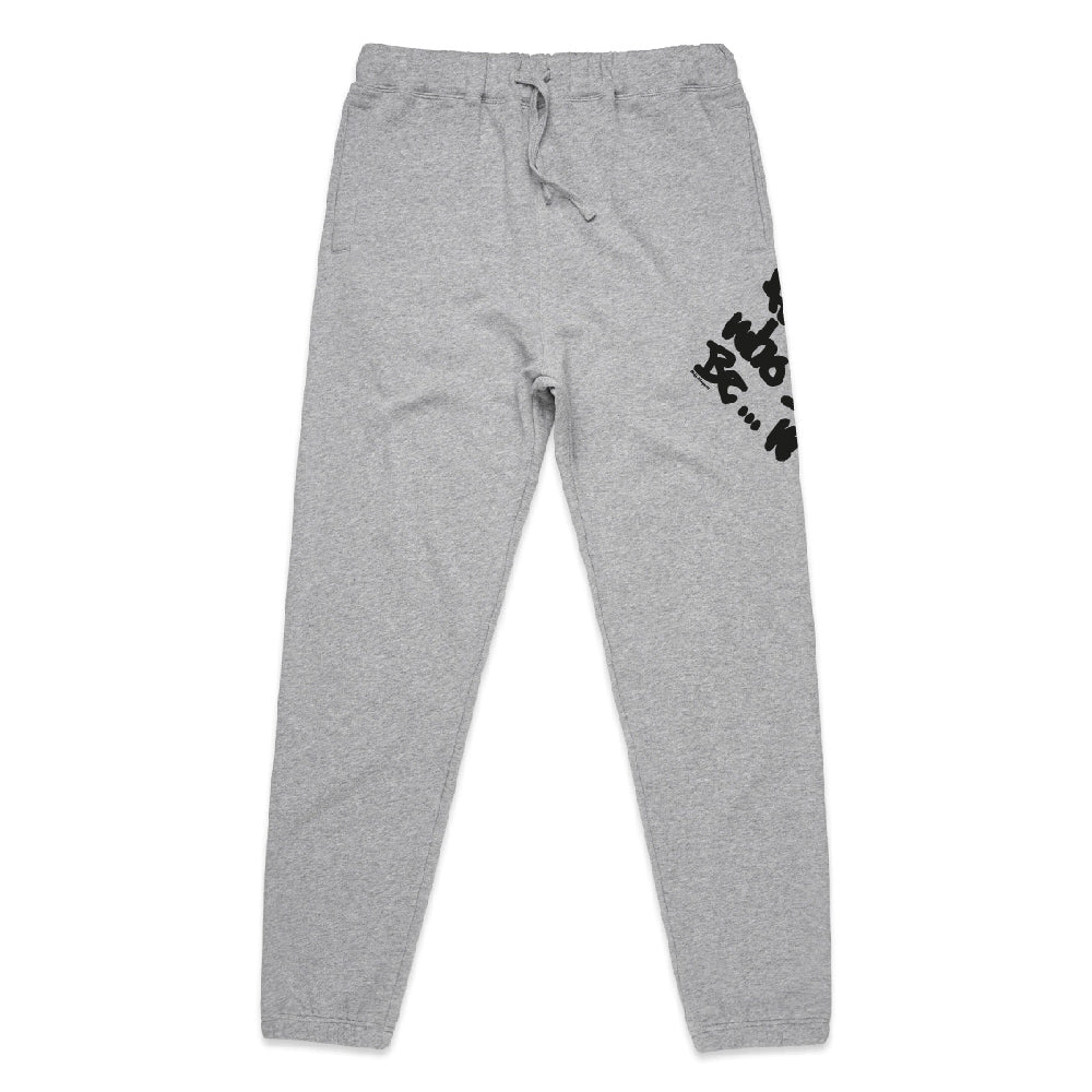 Renegade Graffiti Grey Joggers