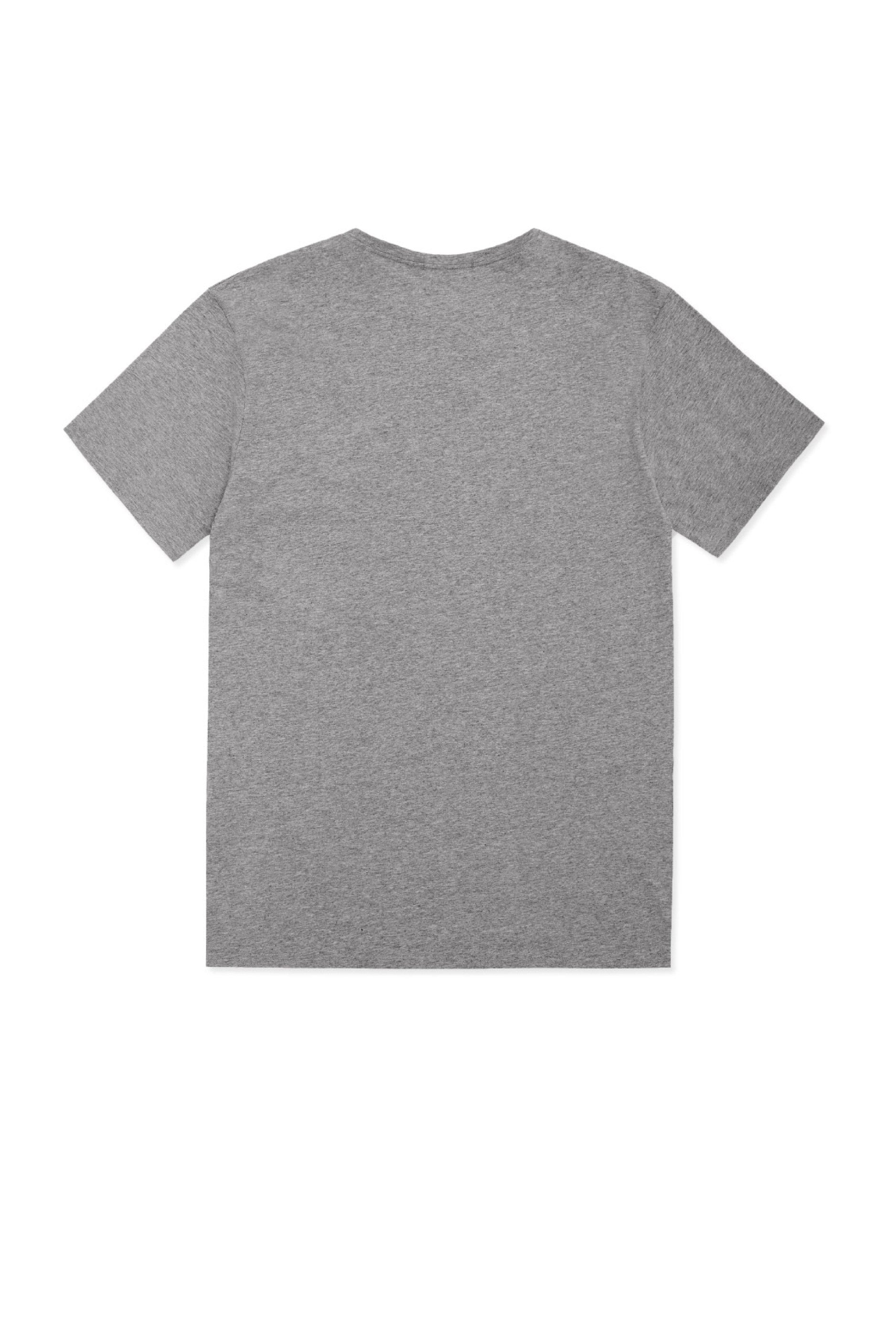 Grey T-shirt - R&W Sneaker Laced UP Print