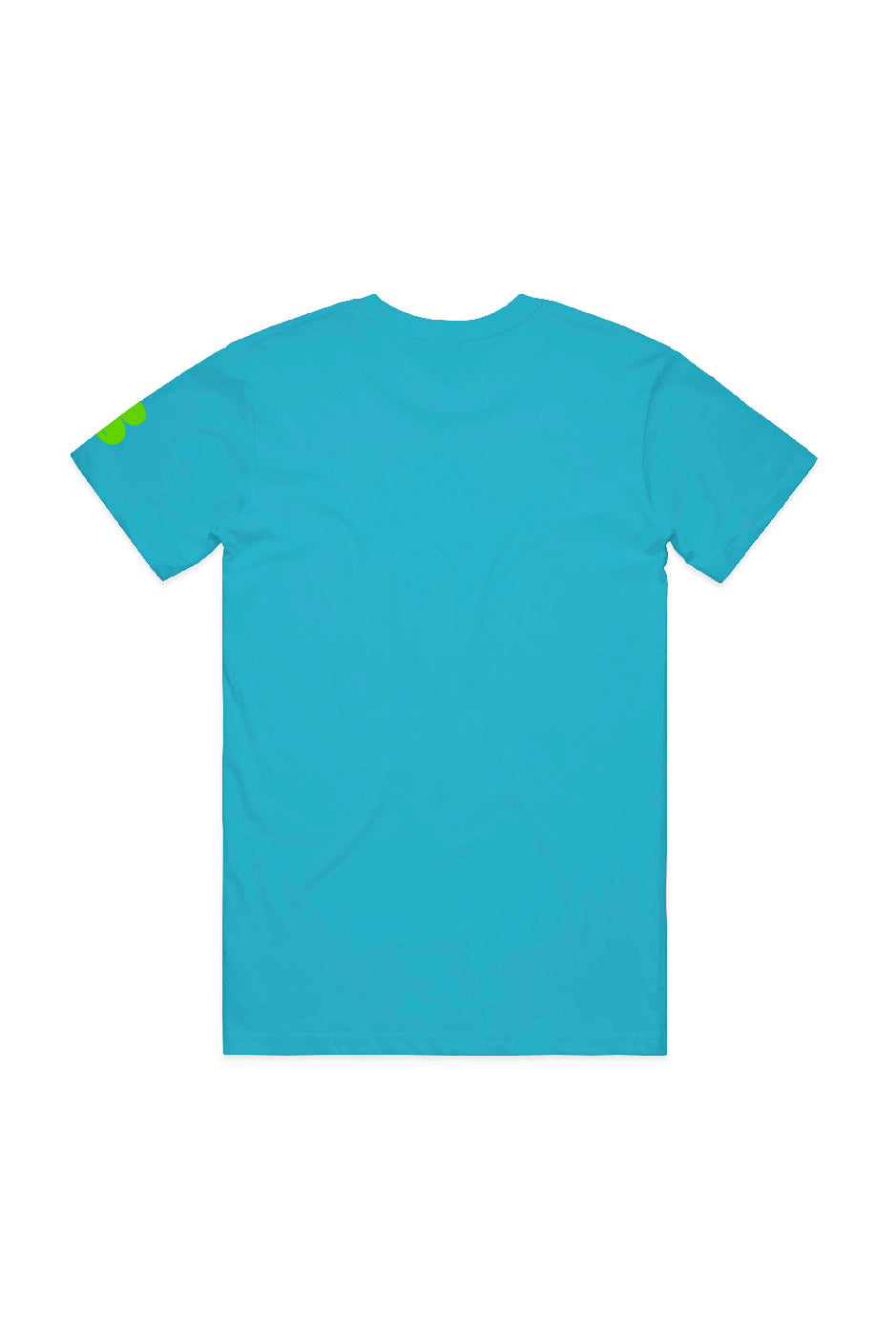 Baby Blue T-shirt - OG Graffiti Print