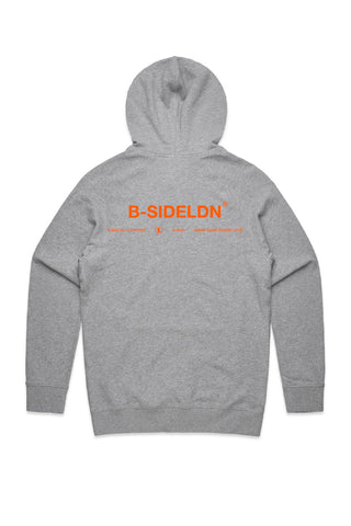 Grey B-Socially Distance Hoody