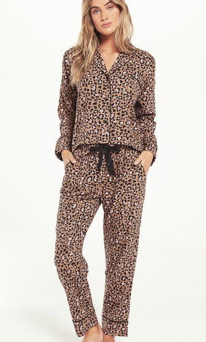 Z Supply Dream State Leopard PJ Set