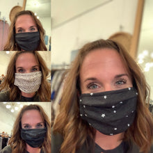 Load image into Gallery viewer, ZSUPPLY Star Face Masks - Backwards Boutique