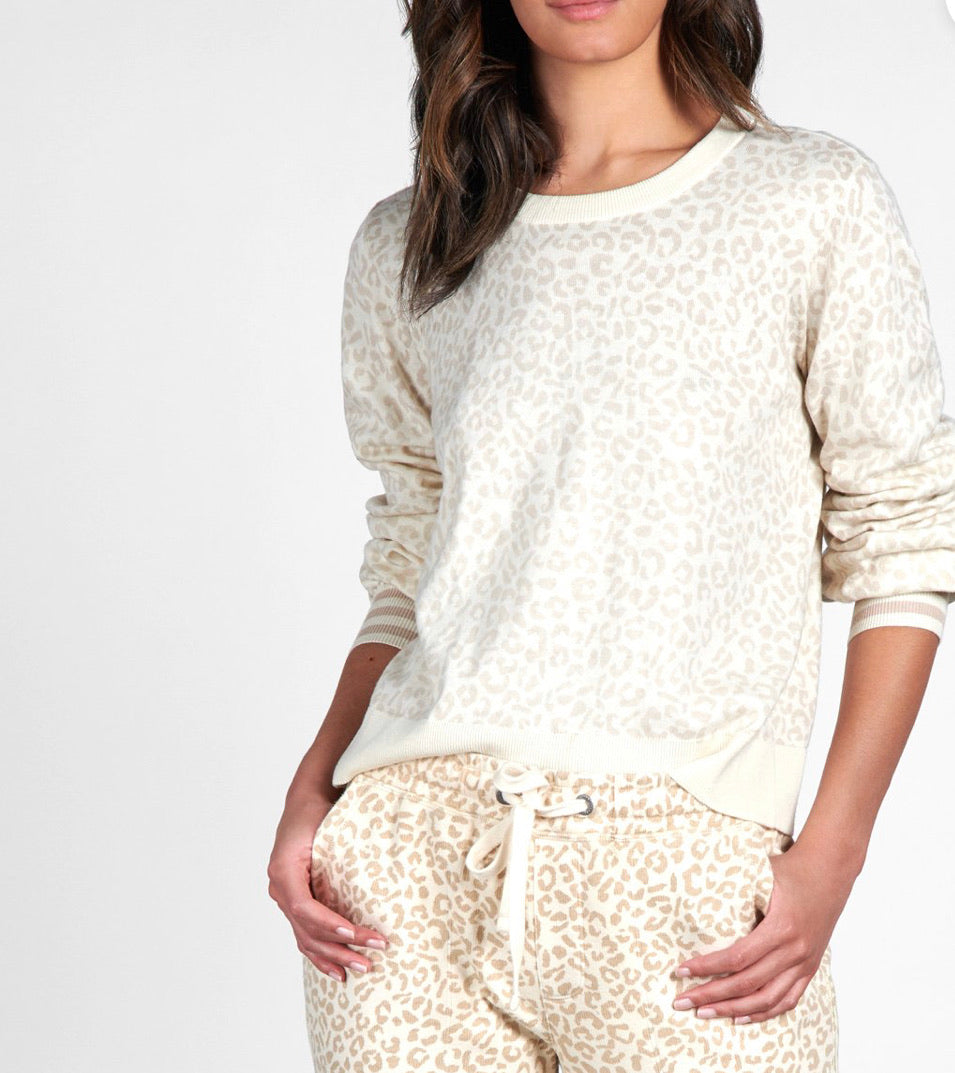 Sanctuary Barely Leopard Sweater - Backwards Boutique