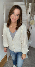 Load image into Gallery viewer, Cover Me in Sunshine Pom Cardigan - Backwards Boutique
