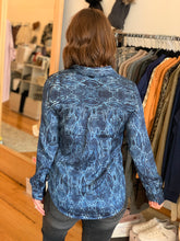Load image into Gallery viewer, Liverpool Snake Print Shirt - Backwards Boutique
