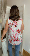 Load image into Gallery viewer, Floral Tea Time Tank - Backwards Boutique