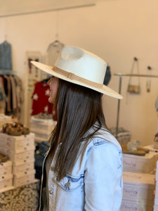 Mont Blanc Wide Brim Hat - Backwards Boutique