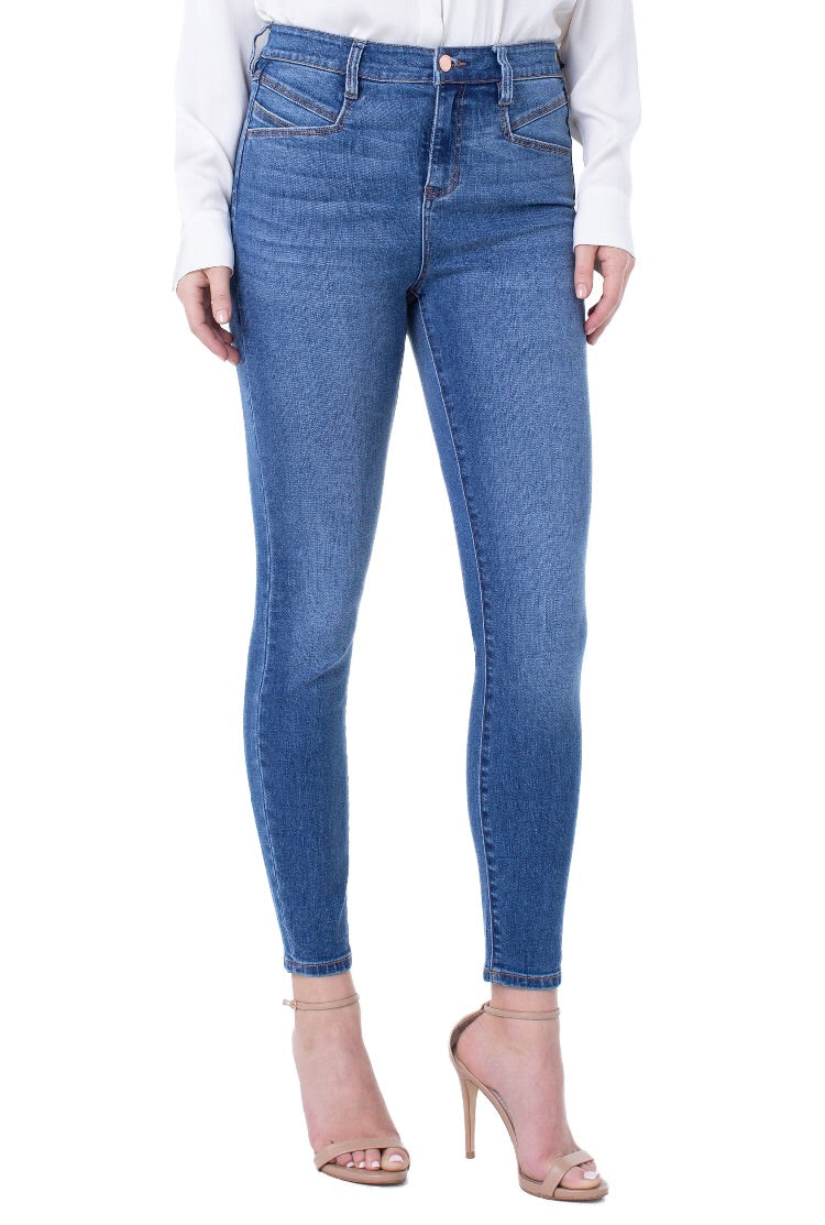 Abby High Rise Liverpool Ankle Skinny Jean