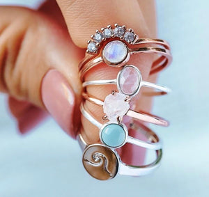 Puravida Ring - Backwards Boutique