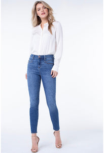 Abby High Rise Liverpool Ankle Skinny Jean - Backwards Boutique