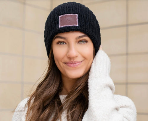 Love Your Melon Iowa Hawkeyes Beanie - Backwards Boutique