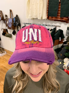 UNI  Collegiate Hat - Backwards Boutique