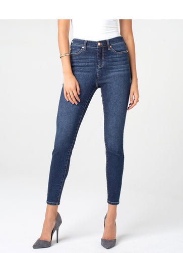 Bridget High Rise Ankle Skinny - Backwards Boutique