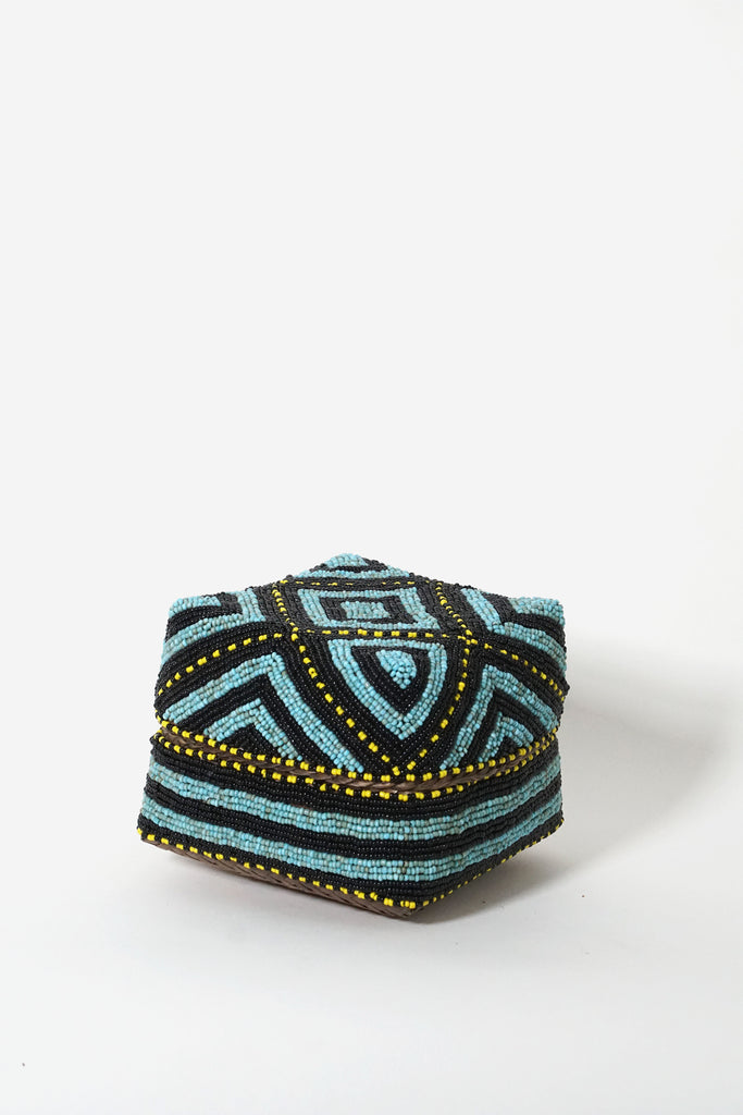Bamboo Beaded Box