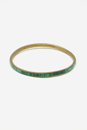 Small Malachite Bangle