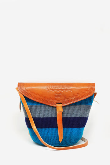 Handwoven Rugby Bag