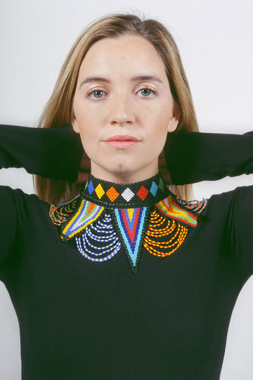 Maasai Beaded Collar
