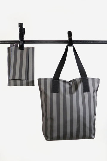 Neutral Nylon Tote Set