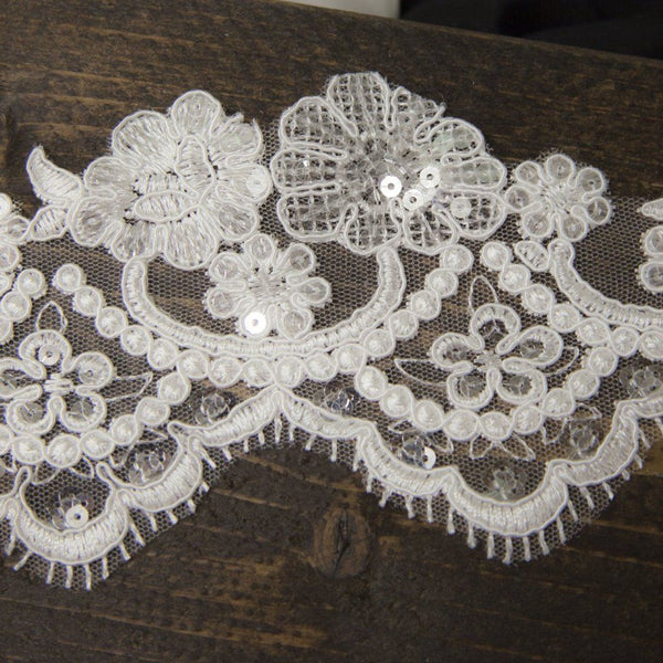 "handmade wedding lace veil chapel 90""  fingertip 45"" cathedral 108"""