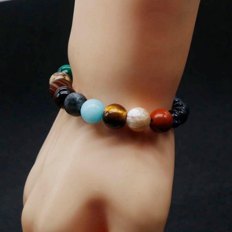 Eight Planets Bead Bracelet