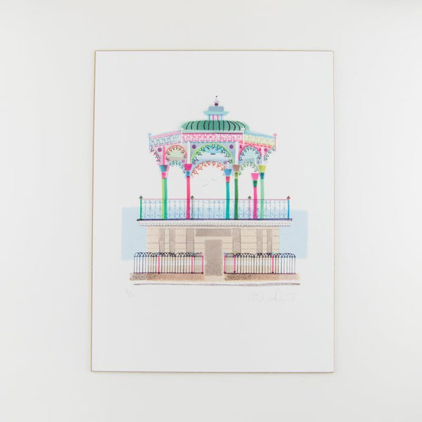 ilona drew's beautiful and colourful landmarks range of Brighton