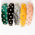 Jewelled Padded Alice Band