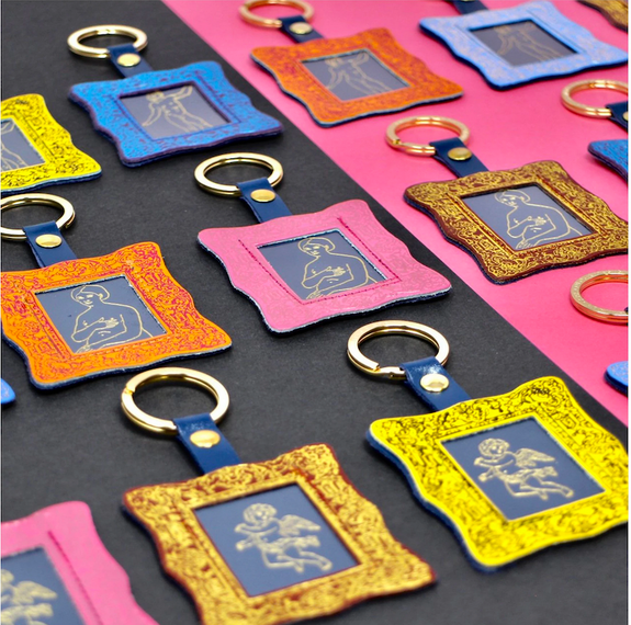 Picture Frame Key Ring