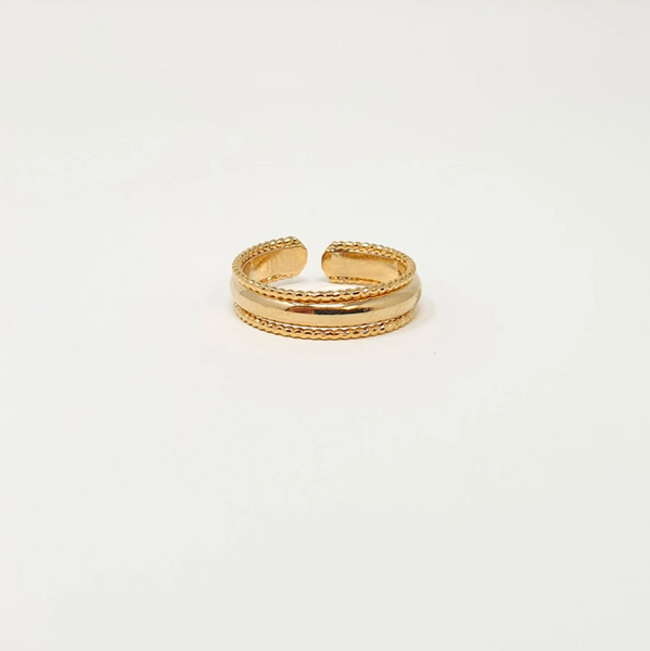 Harper Adjustable Ring (Gold or Silver)