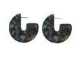 Tortoiseshell Resin Cosette Earrings (colours)