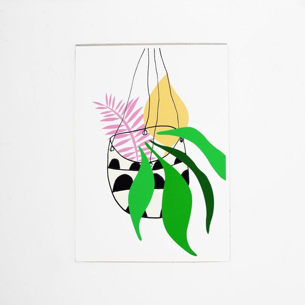 colourful plants print by Hello Marine