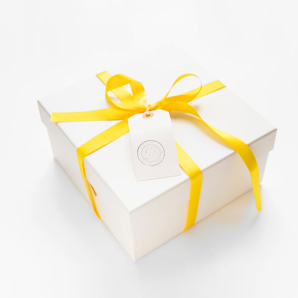 Gift Box With Tag & Ribbon