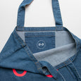 Neon Googly Eyes Denim Tote Bag (colours)
